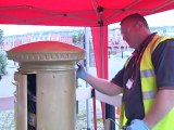 Ellie Simmonds gets second gold postbox