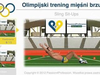 Olimpijski trening mięśni brzucha - Specjalna edycja na Olimpiadę 2012