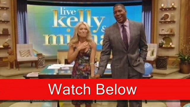 TODAY VIDEO Michael Strahan Joins Kelly Ripa on ABC's 'Live!'