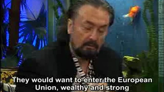 We, of course, would want the European Union; but entering the EU with an approach saying 'Save us!' would not suit the dignity of our nation. We will enter the EU as a leader.