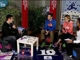 LIVE UTMB passage d'Argentière à sur les bois. ULTRATRAIL TV 2012