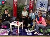 LIVE UTMB passage 2 les Houches  ULTRATRAIL TV 2012