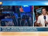 Présidentielle américaine : Michelle Obama ouvre la convention démocrate
