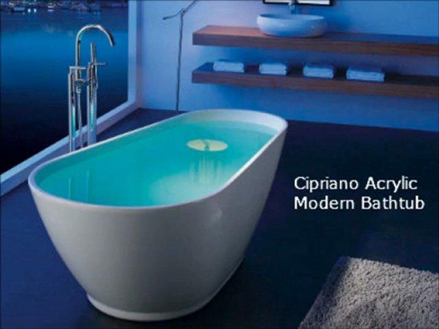The Interior Gallery : New Modern Acrylic Bathtubs