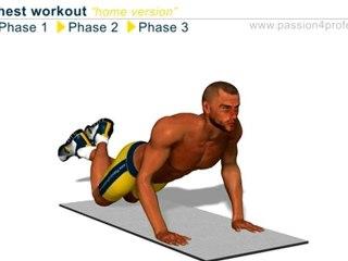 مارين لعضلة الصدر تدريب