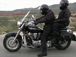 Conducción de motocicletas: Conducción con pasajero en moto 1ª parte