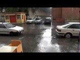 Aversa (CE) - Arriva il maltempo, le strade allagate (04.09.12)
