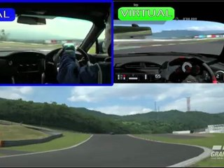 Datalogger Visualization Demonstration Movie de Gran Turismo 5
