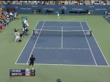US Open - Pas de nouvel exploit pour Bartoli