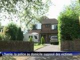 Tuerie des Alpes: la police britannique au domicile supposé des victimes