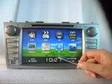 Toyota Camry Autoradio Multimédia, Toyota Camry lecteur DVD, Toyota Camry centre multimédia