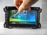 Chevrolet Sail lecteur DVD Auto, Chevrolet Sail centre multimédia, Autoradio GPS Chevrolet Sail