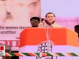 Sonia Gandhi: Workers, farmers play an important role for development