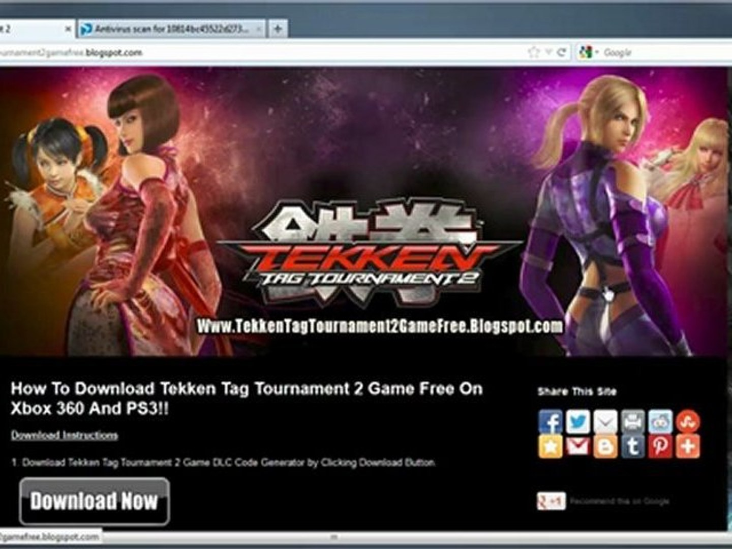How To Install Tekken Tag Tournament 2 Game Free On Xbox 360 And