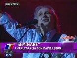 Charly Garcia - Seminare con David Lebon - Luna Park 2012 (La Viola)