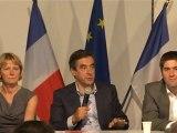 François Fillon répond aux questions des élus et militants de l'Orne