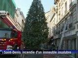 Saint-Denis: 2 morts dans l'incendie d'un immeuble insalubre