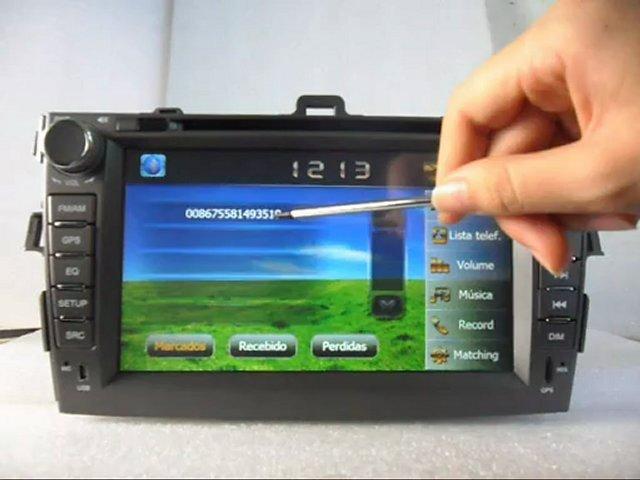 Toyota Leitor DVD para Carro, Toyota Auto-rádio, Toyota Multimédia, Toyota Leitor DVD Automotivo