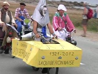 QUIBERON   |  Rallye Solex fou déguisé 2012 - TV Quiberon 24/7