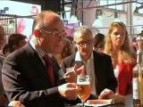 Bernard Cazeneuve à la Foire de Strasbourg