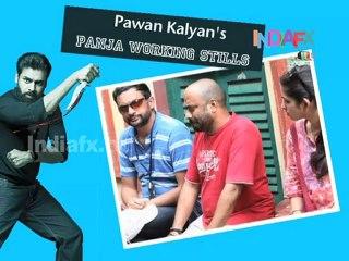 Pawan Kalyan's Panja Working Stills
