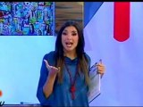 """10/09/12 Vero TV - Marghe conduce il programma Chiacchiere: """"Volevo ballare il bunga bunga anch'io"""""""