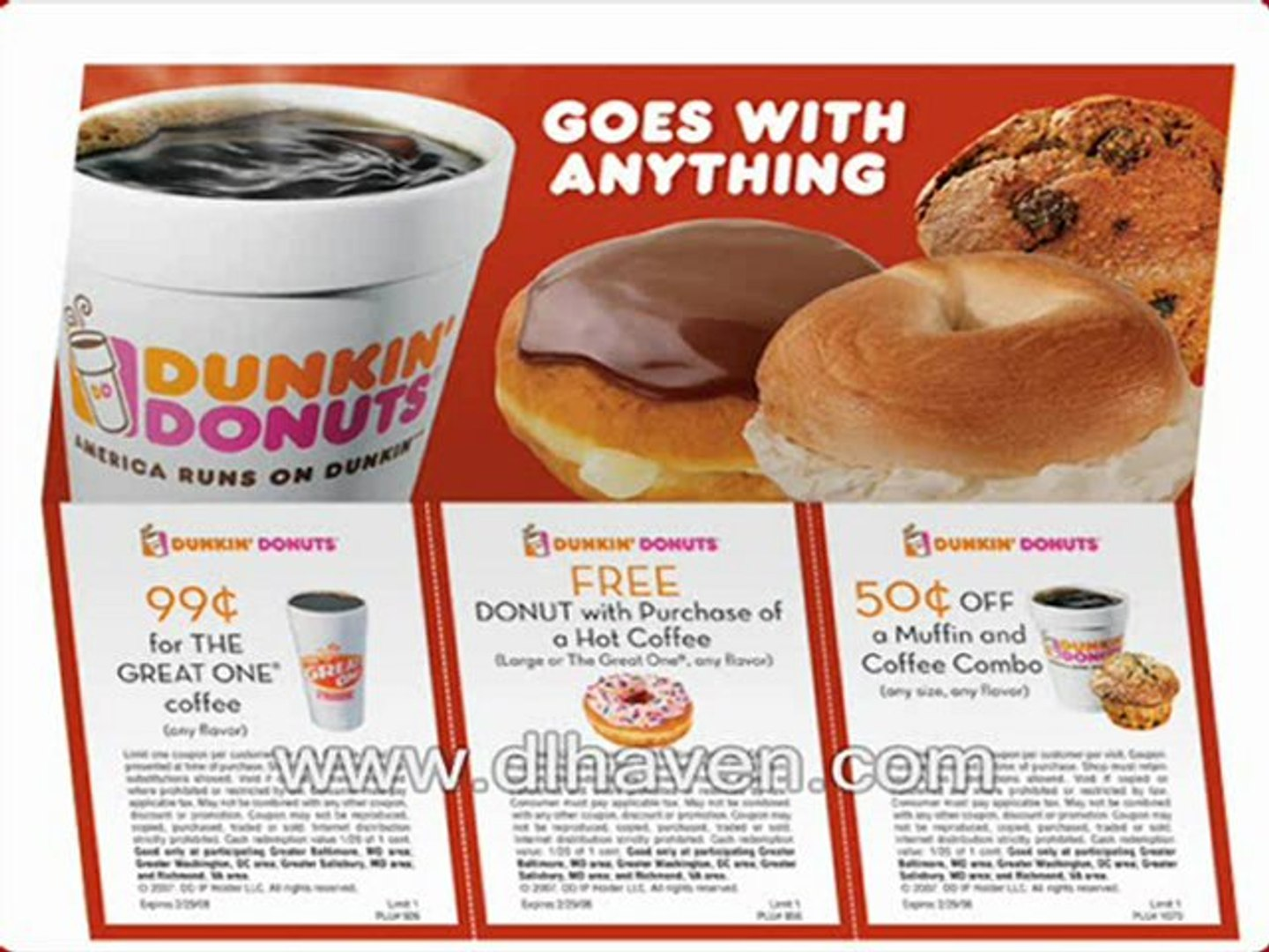 photo about Dunkin Donuts Coupons Printable titled How Toward Choose $100 No cost Dunkin Donuts Coupon