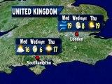 UK Weather Outlook - 09/11/2012