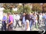 Torino: operai Ibm in piazza contro i trasferimenti coatti. La rabbia dei sindacalisti: sono di licenziamenti mascherati