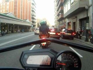 Conducción segura de motocicletas: Tiempo y distancia de reacción