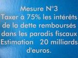 Rembourser 45 milliards de dettes sans augmenter les impots des Francais de France