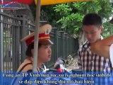 CA TP Vinh tiếp tục xử lý nghiêm học sinh đi xe đạp điện không đội MBH