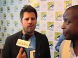 """""""Psych"""" Stars James Roday and Dule Hill at Comic Con 2012"""