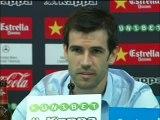 """Albelda: """"Nosotros no tenemos a Silva y no damos el coñazo todos los días"""""""
