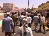 US Embassy in Yemen stormed by 'blasphemous' film protesters