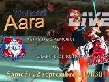 Live - Grenoble vs Villeneuve - 19 janvier  2012 à 19h15