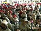 Chávez reta a la oposición