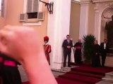 Audience privée de Benoit XVI pèlerinage des servants d'autel à Rome 2012 1/2