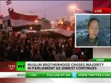 Hijacked Revolt: Muslim Brothers win - pretext for NATO invasion