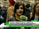 RT inside 'Day of Action': Mass arrests, OWS blame NYPD for brutality