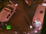Video: Two Occupy Oakland protesters hit by car at general strike