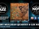 Gerry Mulligan Quartet & Lee Konitz - These Foolish Things (1953)