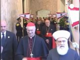 Pope calls for tolerance and peace in Lebanon
