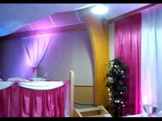 Decoratrice salle mariage