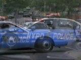 New York 911 extrait - Voiture de police volée