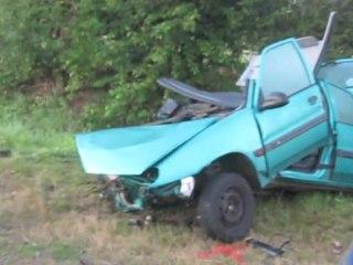 Terrible drame de la route sur la RD643 entre Bazuel et le Cateau