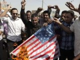Angry protests took place in Iraq over anti-Islam video