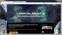 How to Get Lost Planet 3 Freedom Fighter Pack DLC Free