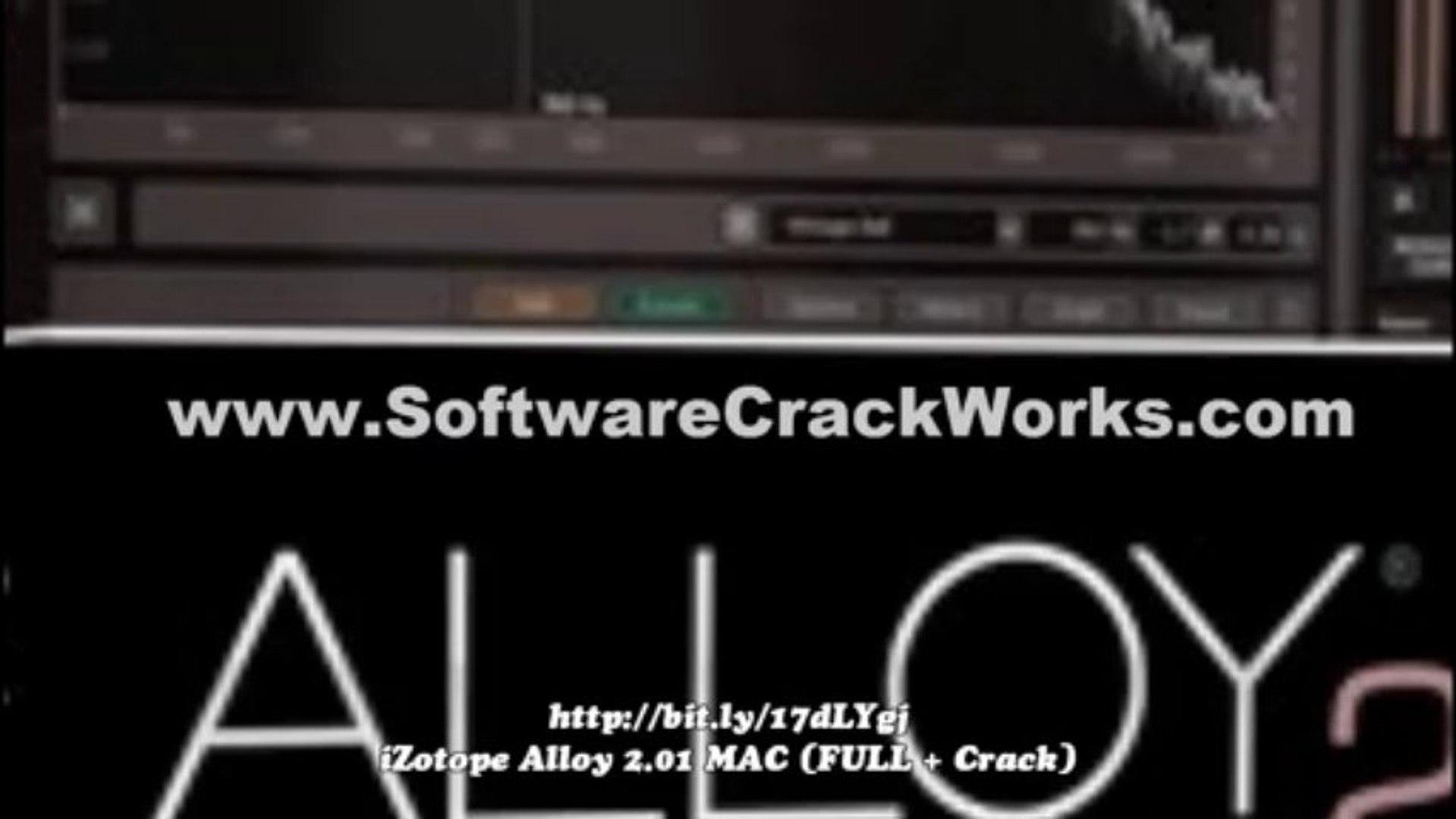 [8-2013 NEW] (FULL + Crack) iZotope Alloy 2 01 {MAC}