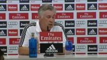 Ancelotti deja en suspenso la titularidad de la portería y responde a Martino